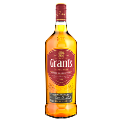 Grant's Triple Wood Scotch Whisky 1 l