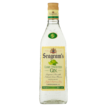 Seagram's Lime Twisted Gin 700 ml