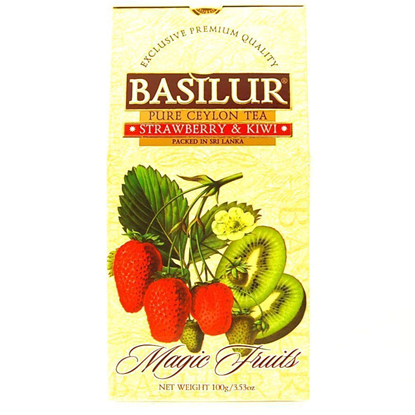 BASILUR STRAWBERRY&KIWI 100G