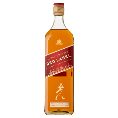 Johnnie Walker Red Label Blended Scotch Whisky 1 l