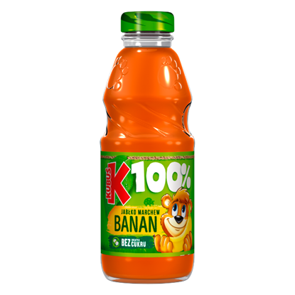 Kubuś 100% Sok jabłko marchew banan 300 ml